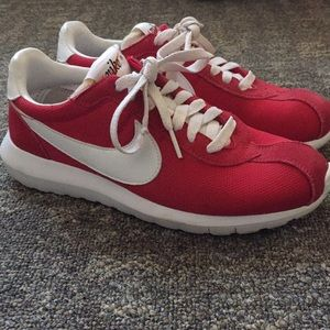 Old fashion Nike red sneakers